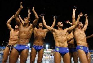 Brazilian water polo team