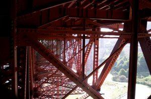 under the Golden Gate