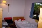 cozy bed at Loyalist