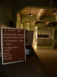 Breakfast at Alcatraz