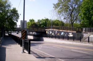 Jones Street bridge and I'm feelin' phat-tastic