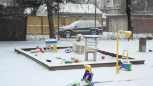 more toys in the snow
