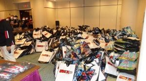 three thousand bags full