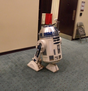 r2d2 in the lobby