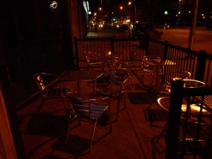 the haunted patio