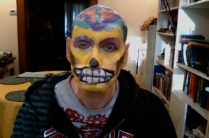 rainbow day of the dead