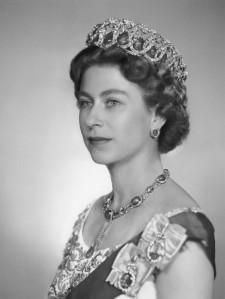 NPG x37877; Queen Elizabeth II by Dorothy Wilding