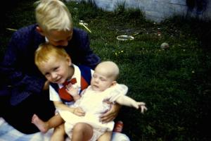 1959 Aug Me and my bros 1