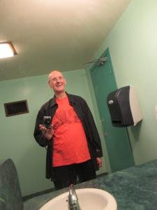 Gene's washroom selfie Oct 2016
